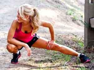 Adducteurs 4 tirements anti douleur pour viter une tendinite for Douleur sur le cote exterieur du genou
