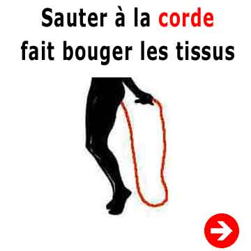 exercice pour enlever cellulite