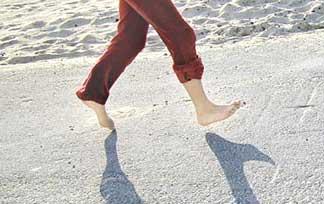 courir pieds nus ou en chaussures minimalistes