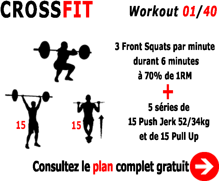 workout 1 du programme crossfit pour les open