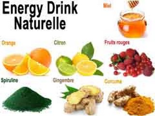 energy drink cocktail naturel bio
