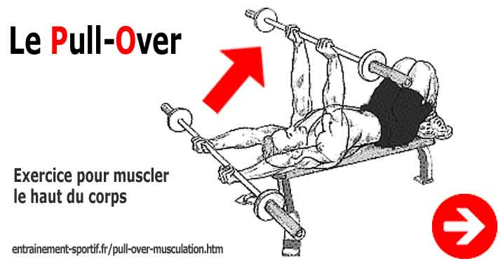pull over exercice de musculation