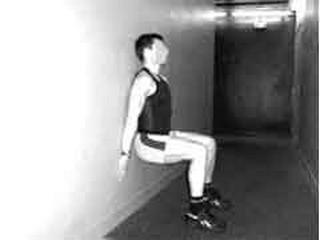 Tonicit musculaire test de la chaise et de la planche - La chaise exercice musculation ...
