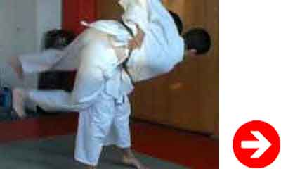 koshi waza technique de projection