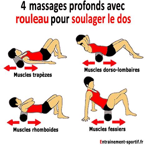 auto-massages-profonds avec foam roller pour soulager le mal de dos f64589a9a09