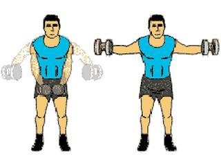 haltere musculation epaule