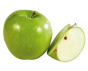 la pomme granny smith est celle qui est le plus riche en fibres