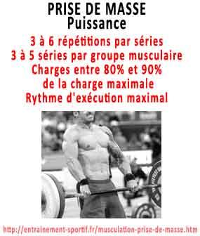 proteine poids de corps prise de masse