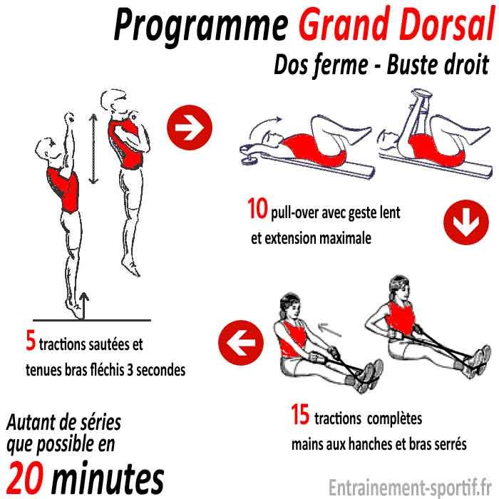 Muscle Grand Dorsal - Musculation pour un Dos en V et un