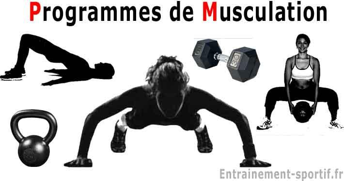 27 Programmes Musculation Masse Puissance Tonicite