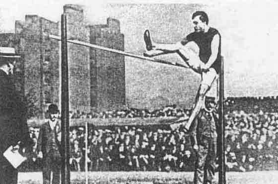 Le sport en 1900 Saut-hauteur-1900
